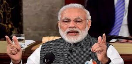 modi speech with indian people