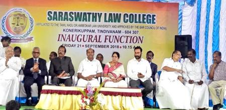 Law College Opening Today