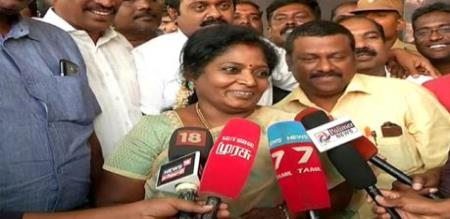 Tamilisai Says About Dmk Congress Alliance