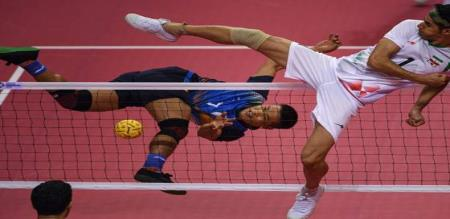 asiangames2018 Update  Bronze for India in sepaktakraw