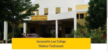 Saraswathi Law College open Tomorrow