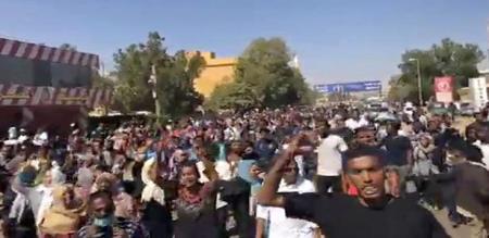 GOVT AGAINST STRIKE IN SUDAN COUNTRY 22 PEOPLES DIED