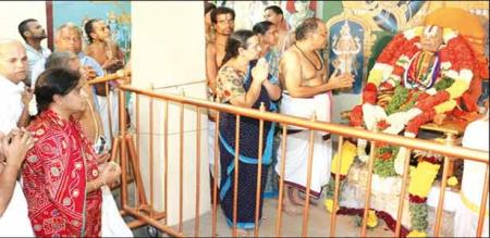srirangam temple jiyar sriranga narayanan passed away