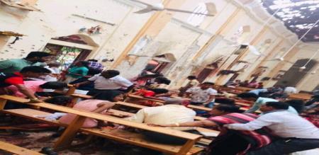 srilanka church bomb blast