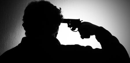 HUSBAND KILLED IN GUN GHOOT FIRE AND HE ALSO SUICIDE