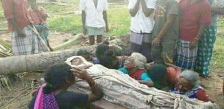 A 13 YEARS CHILD DEAD GAJA CYCLONE