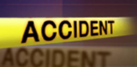 CAR AND MINIBUS ACCIDENT.
