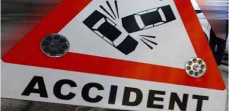 A LORRY ACCIDENT ENGINEER DEAD.