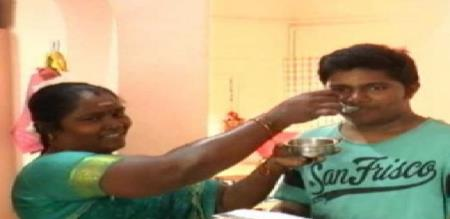 a poor mother got medical sheet for her son