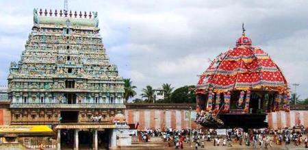 inspection iTiruvarur temple