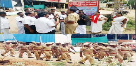 green way protest 91 members arrested in thiruvannamalai