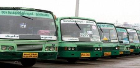 A THIRUPUR GOVT. BUS DRIVER ANNOUNCE STRIKE
