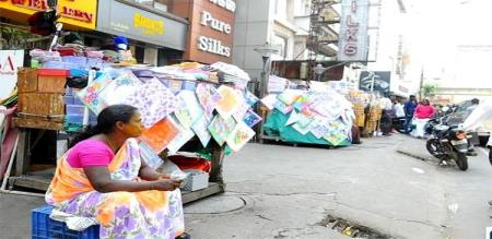 small shop vendors starts strike