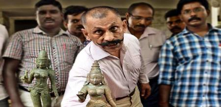 pon manikavel says about statue