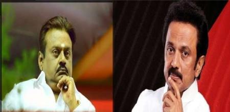 mk stalin speak out dmk allaince with dmdk
