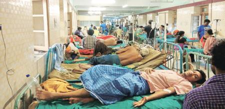 fever spread to vedasandur village