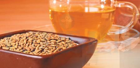 how to make Fenugreek tea in home