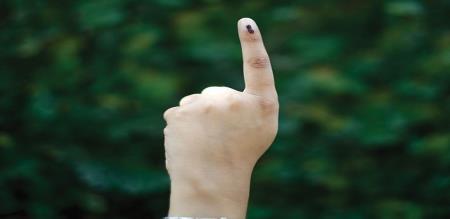 till now vote percentage parliament election in tamilnadu