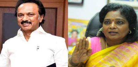 a war start in dmk vs bjp., tamilisai terror speech