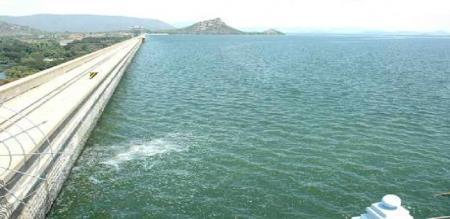 mettur dam water level information