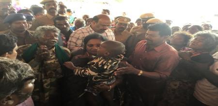tamilisai soundararajan will goes to ariyalur kargudi.