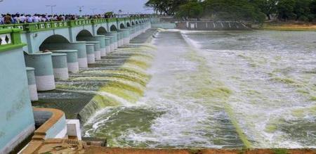 kallanai dam today open