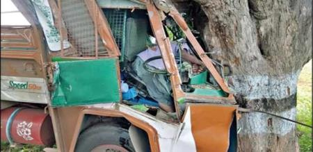 LORRY ACCIDENT IN KOVAI MADURAI ROAD