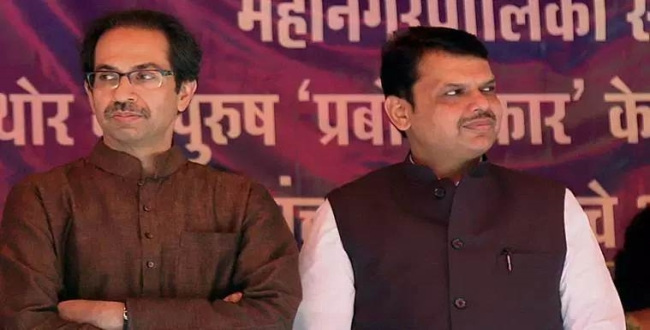 shiv sena leaders meet with governer