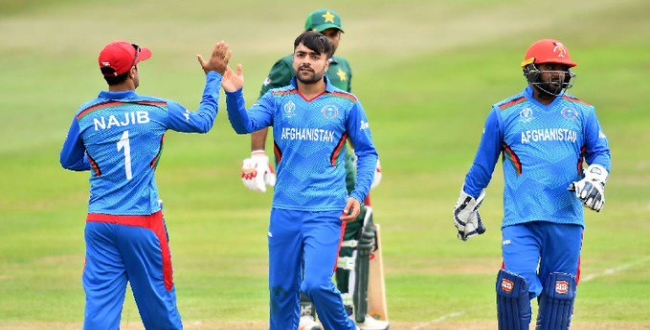 Afghanistan won Pakistan in world cup  warm up match