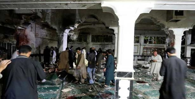 in Afghanistan masque bomb blast 20 peoples died