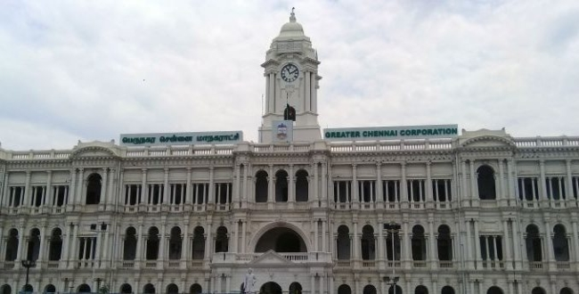 Chennai corporation announcement