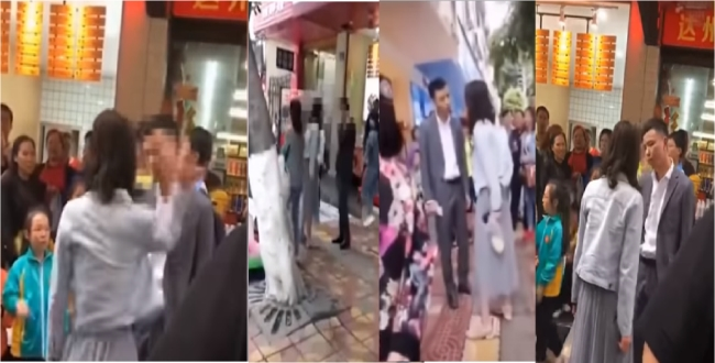 in china girl attack her lover due to not gift for lovers day