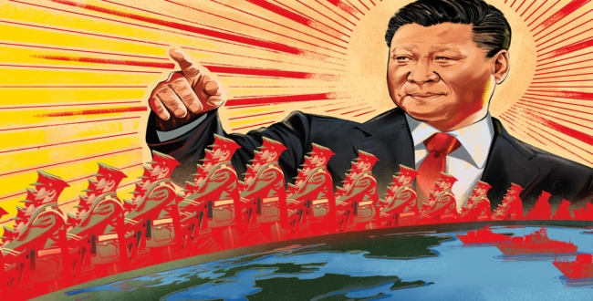 China warn to India about America - china cold war