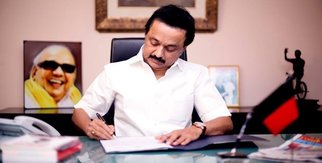 stalin about dmk protest for against hydro carbon project