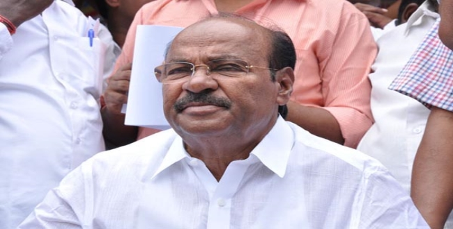 dr ramadoss said central govt dont warn state govt in final semester issue