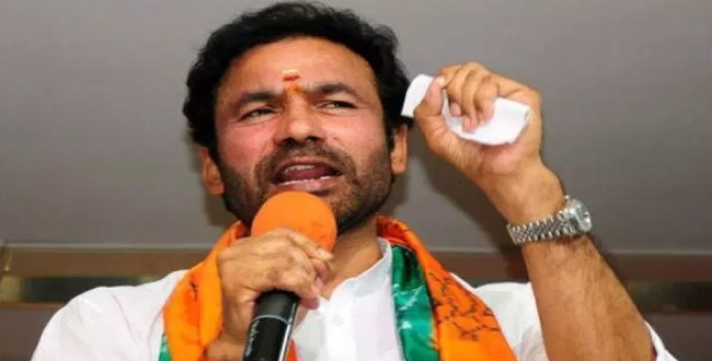 kishan reddy new announcement for kashmir hindhu