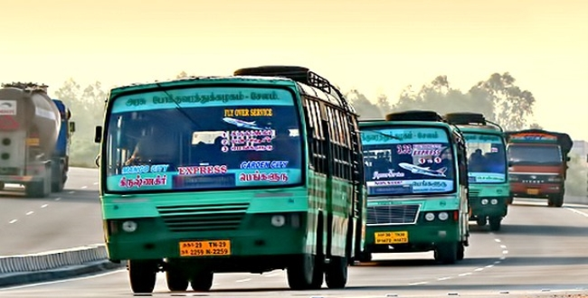 govt and private buses in tamilnadu