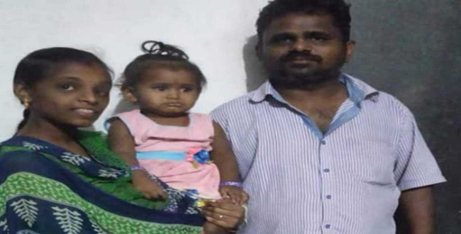 Krishnagiri pregnancy girl return tamilnadu with husband