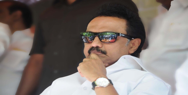 MK Stalin condemns to secret election in local body