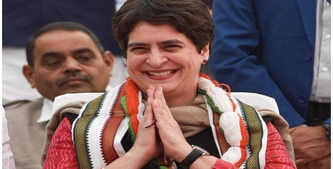 priyanka gandhi says religious institutions can use congress volunteers