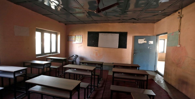 after 7 months schools open in jammu kashmir