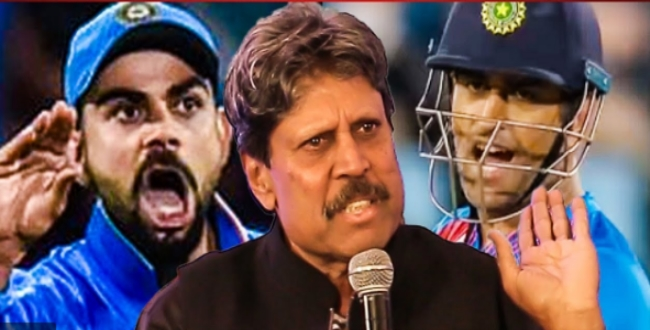 kapil dev says about dhoni retirement