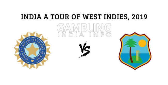 india a team beat by west indies a team