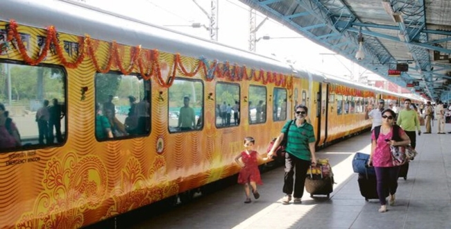 Tejas Express give penalty for train late Mumbai to Ahmedabad
