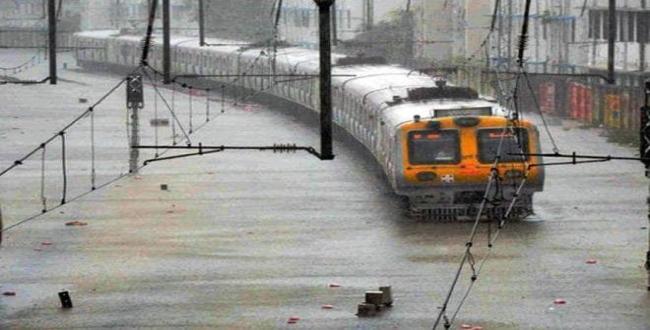 in mumbai again heavy rain start