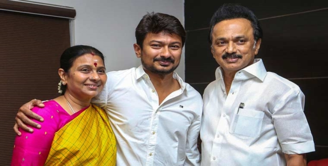 DMK Trend set for youth wing leader Udhayanidhi