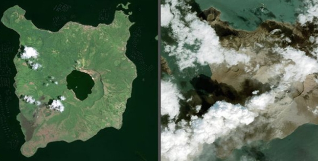 Volcanic eruptions in philippines