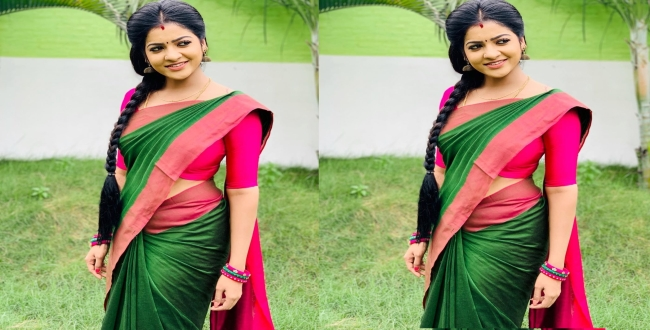 Vj chithra latest photoshoot