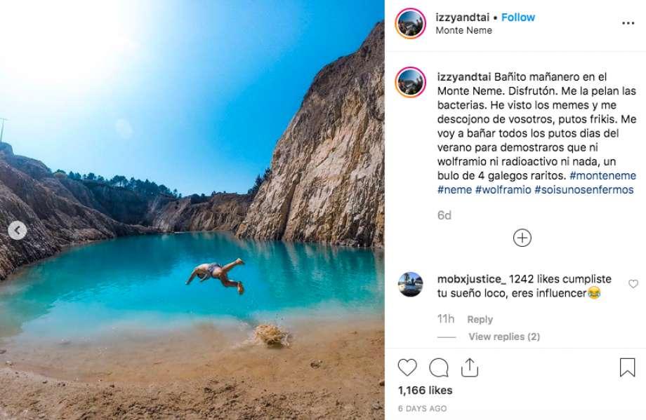 Spain, Spain toxic lake,