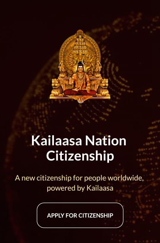 kailaasaa nation citizenship, கைலாசா நாடு,